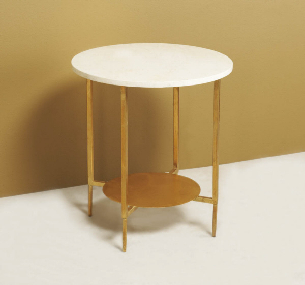 Spot-On SideTable-Gold